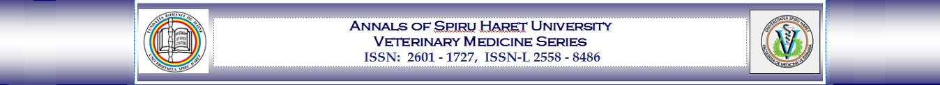 Annals of Spiru Haret University – Veterinary Medicine