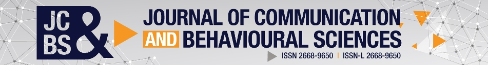 Journal of Communication and Behavioural Sciences